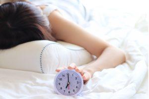薄毛と睡眠不足の関係