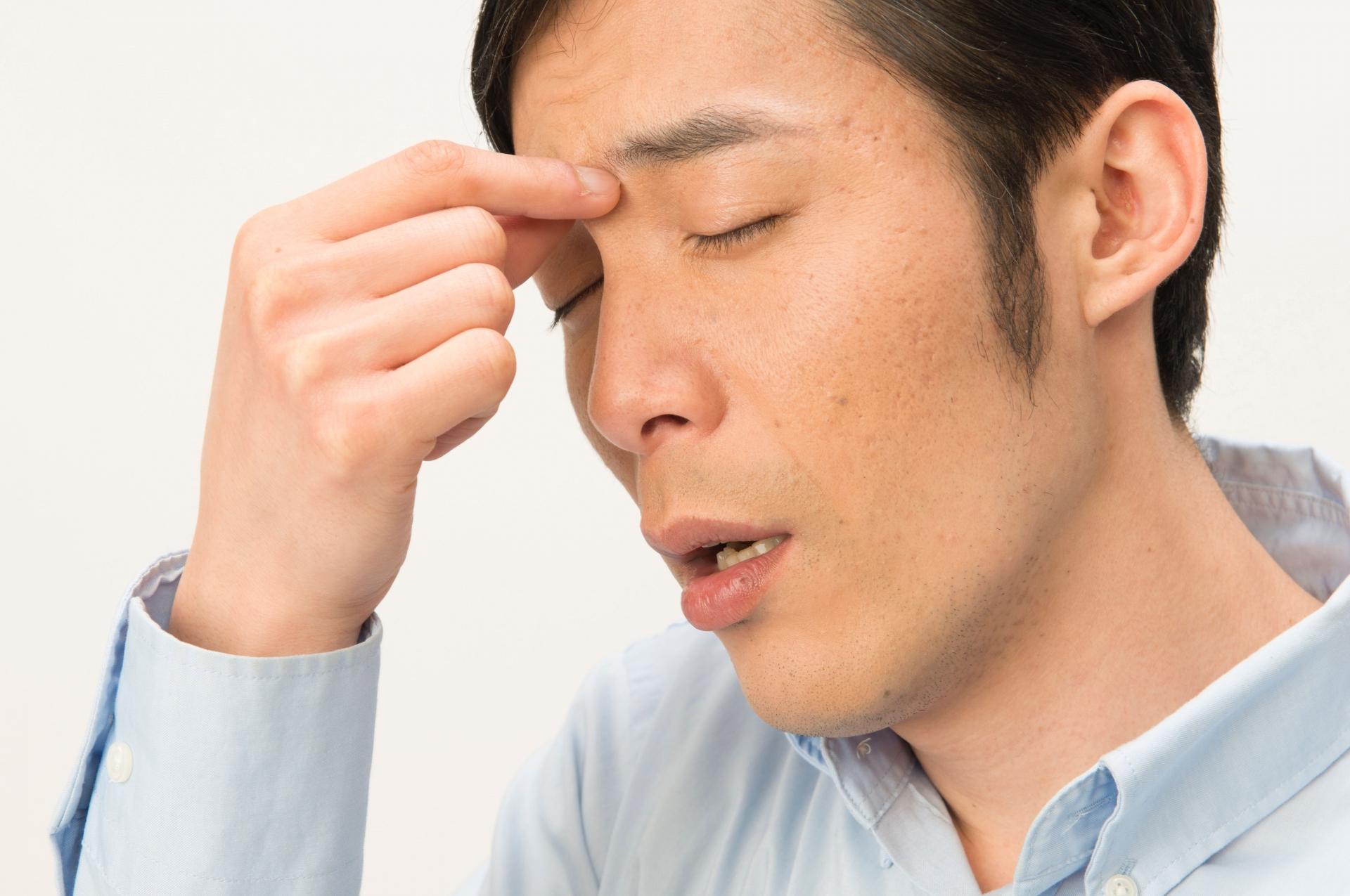 眼精疲労と抜け毛や薄毛の関係