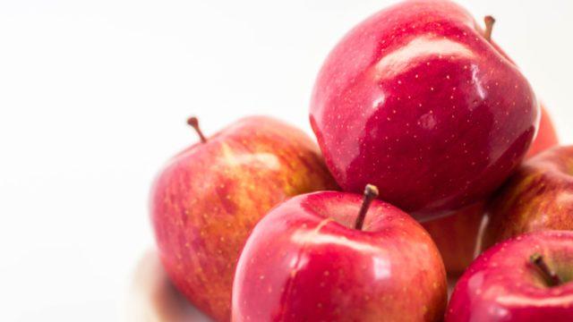 【りんごの育毛効果】りんごポリフェノールは生え際の髪にも効果あり?